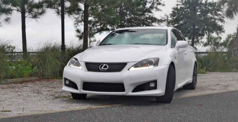 Road Test Review 2014 Lexus IS-F Is AMAZING Fun - 416HP 5578