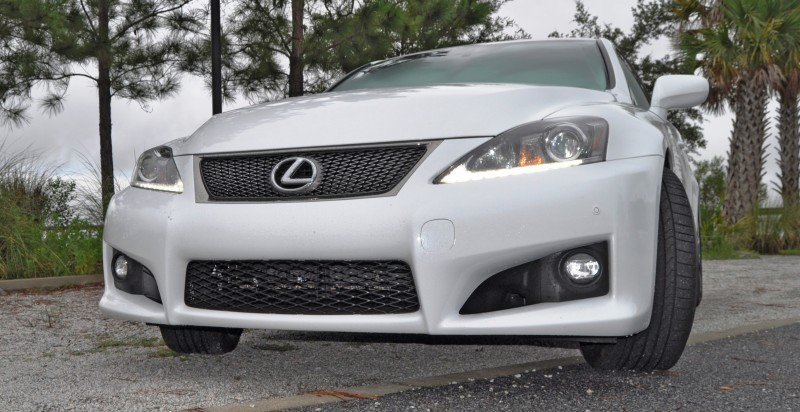 Road Test Review 2014 Lexus IS-F Is AMAZING Fun - 416HP 5_14