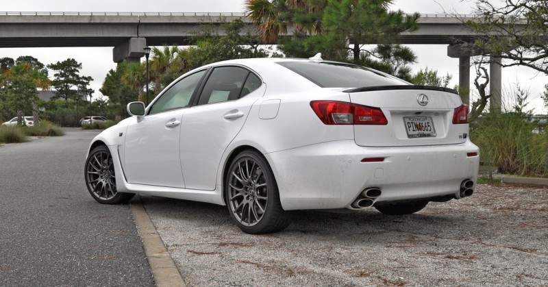Road Test Review 2014 Lexus IS-F Is AMAZING Fun - 416HP 5_17