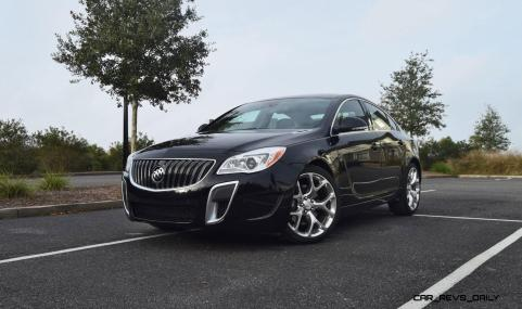 Road Test Review - 2016 Buick REGAL GS 40