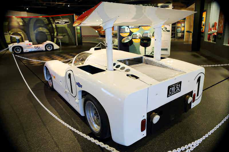 See The Authentic Chaparral 2H and 2J Racecars at the Petroleum Museum in Midland, Texas 22