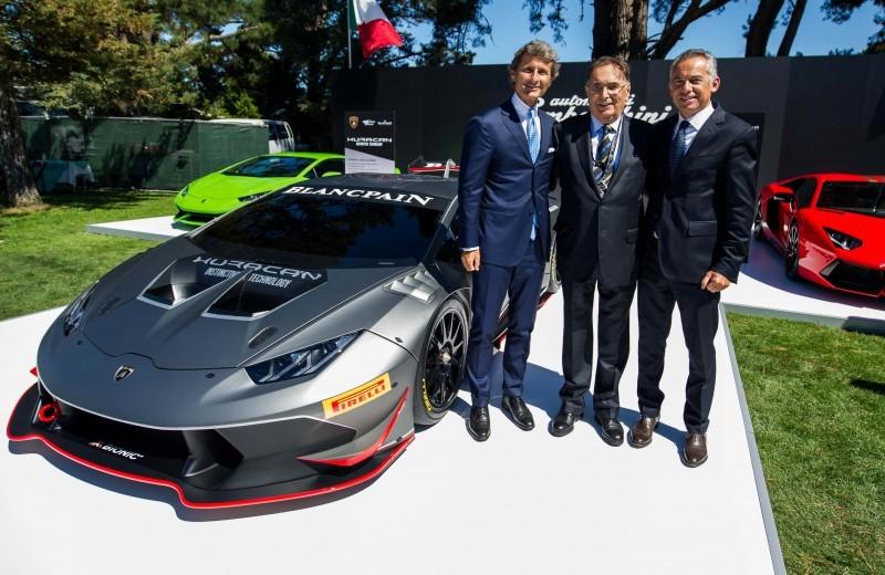 Stephan Winkelmann - Giampaolo Dallara - Maurizio Reggiani
