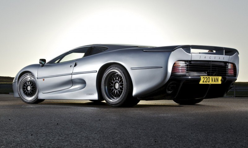 Supercar Icons - 1992 JAGUAR XJ220 Still Enchants the Eye and Mind, 22 Years Later 19