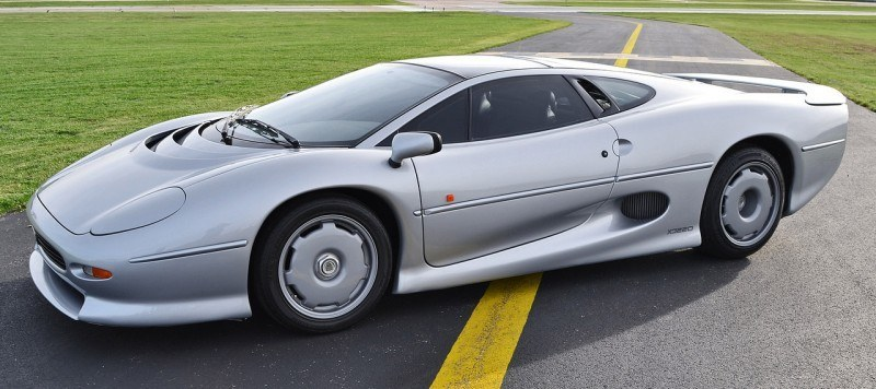Supercar Icons - 1992 JAGUAR XJ220 Still Enchants the Eye and Mind, 22 Years Later 43