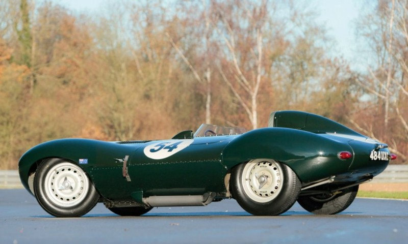 Swoopy 1955 D-type JAGUAR Tops All Comers with $5M Total in Fabulous RM Auctions Paris Gala 2