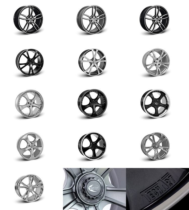 TECHART Releases First Four MACAN Wheels 26
