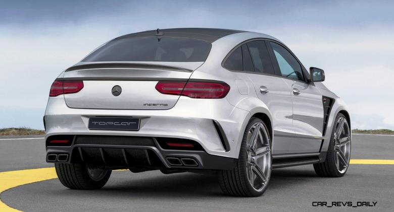 TopCar Mercedes-Benz GLE Coupe INFERNO 2