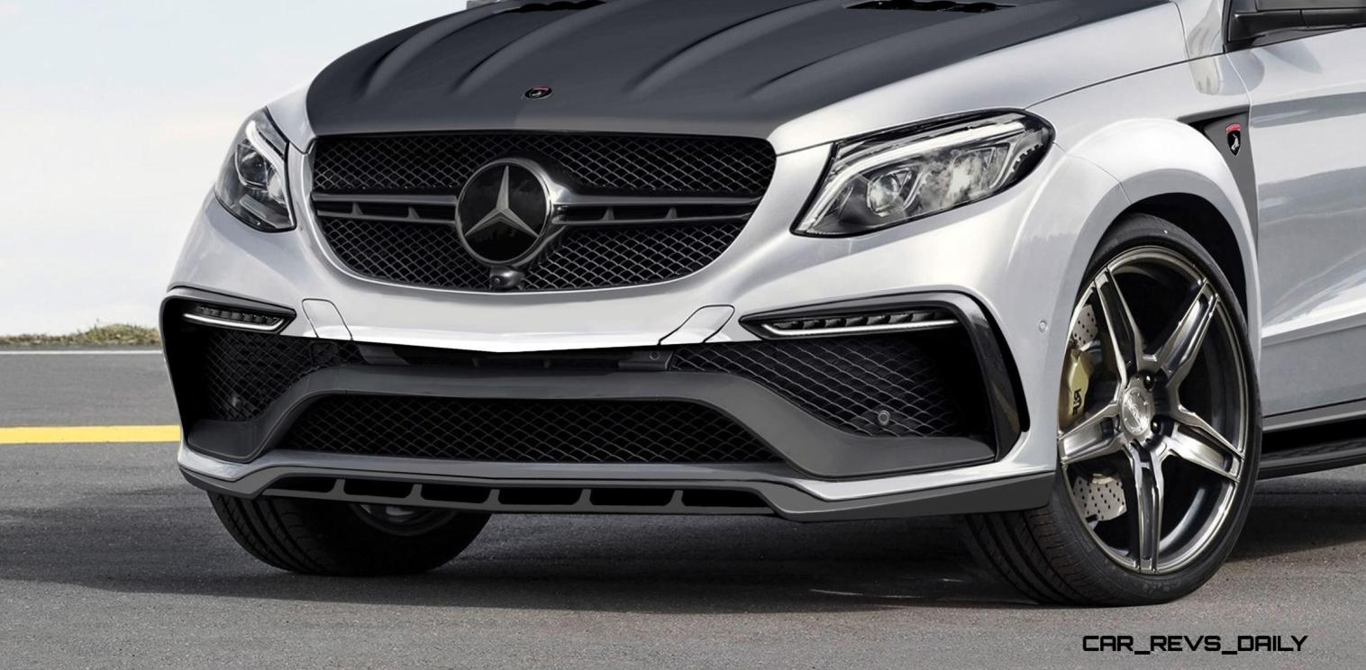 TopCar Mercedes-Benz GLE Coupe INFERNO 8