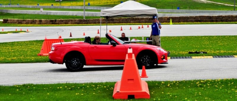 Track Test Review - 2014 Mazda MX-5 Club Hardtop at Road America Autocross10