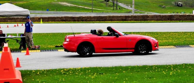 Track Test Review - 2014 Mazda MX-5 Club Hardtop at Road America Autocross11