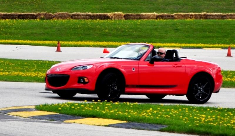 Track Test Review - 2014 Mazda MX-5 Club Hardtop at Road America Autocross5