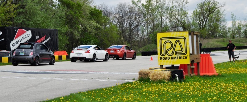 Track Test Review - 2015 Subaru WRX STI Is Brilliantly Fast, Grippy and Fun on Autocross 20