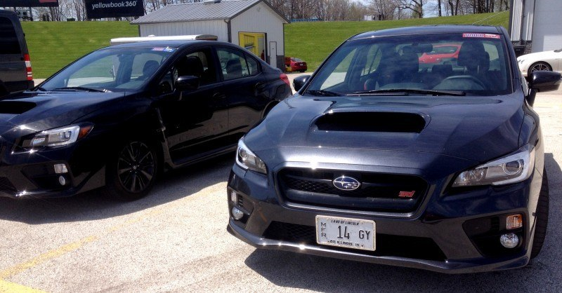 Track Test Review - 2015 Subaru WRX STI Is Brilliantly Fast, Grippy and Fun on Autocross 29