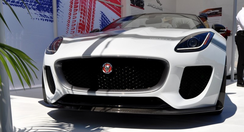 USA Debut - 2014 JAGUAR F-TYPE Project 7 Speedster! 3.8s to 60MPH, 575HP, 250 Copies Max 11