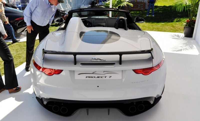 USA Debut - 2014 JAGUAR F-TYPE Project 7 Speedster! 3.8s to 60MPH, 575HP, 250 Copies Max 24