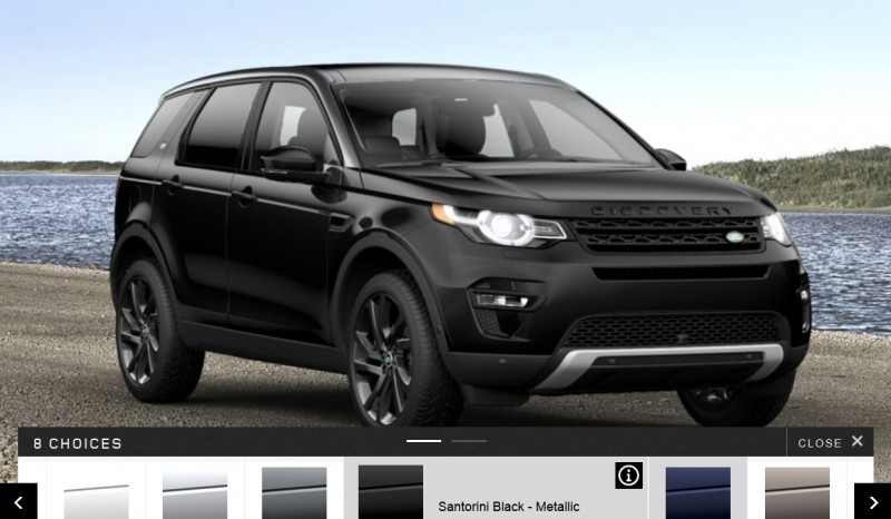 Update1 - 2015 Land Rover Discovery Sport - Specs, Prices, Options and Colors 13