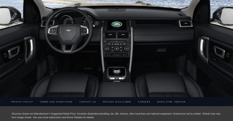 Update1 - 2015 Land Rover Discovery Sport - Specs, Prices, Options and Colors 35