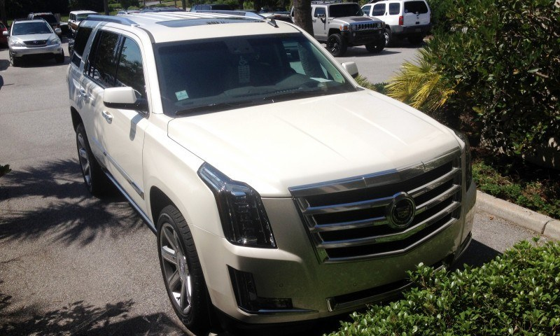 Update1 New Photos! 2015 Cadillac Escalade - Majors On Interior Upgrades - Leathers, Colors, Specs and Pricing 3