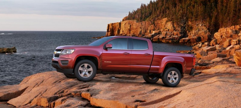 Updated With Pricing and Colors - 2015 Chevrolet Colorado Z71 Brings Cool Style, Big Power 10