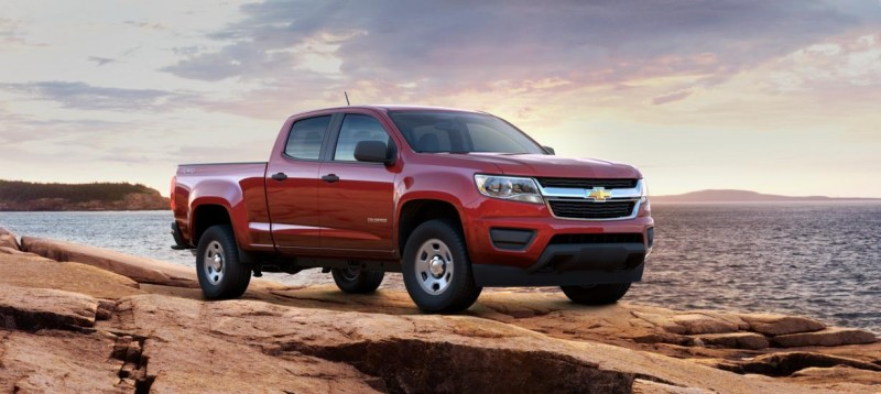 Updated With Pricing and Colors - 2015 Chevrolet Colorado Z71 Brings Cool Style, Big Power 13
