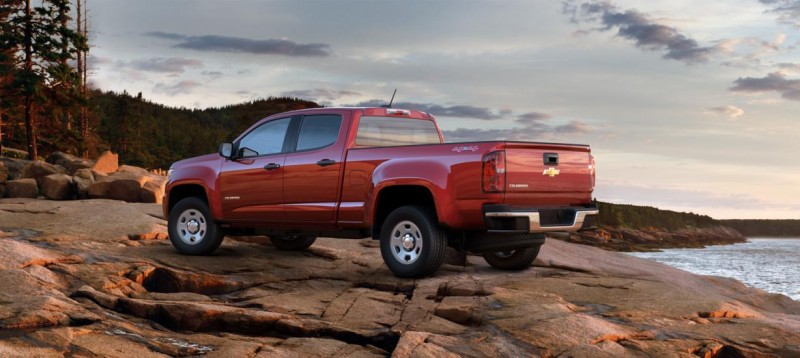 Updated With Pricing and Colors - 2015 Chevrolet Colorado Z71 Brings Cool Style, Big Power 15