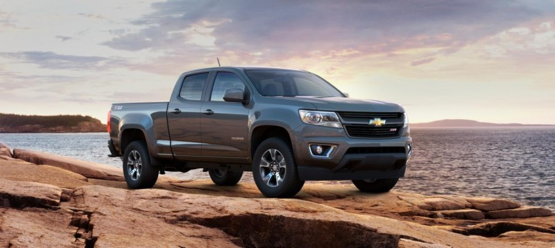 Updated With Pricing and Colors - 2015 Chevrolet Colorado Z71 Brings Cool Style, Big Power 41