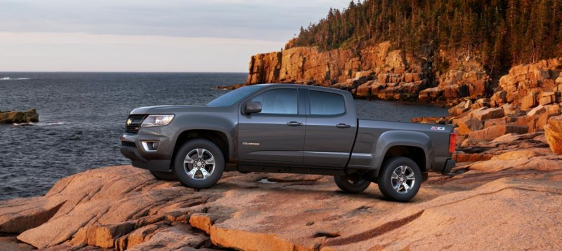 Updated With Pricing and Colors - 2015 Chevrolet Colorado Z71 Brings Cool Style, Big Power 42