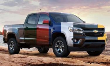 Updated With Pricing and Colors - 2015 Chevrolet Colorado Z71 Brings Cool Style, Big Power 49_001-horz
