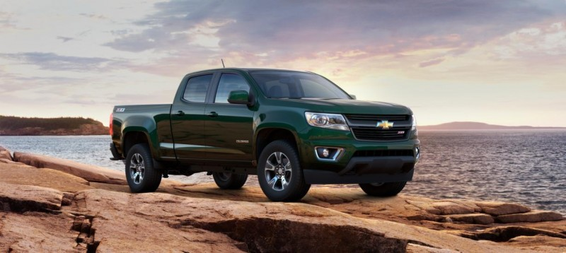 Updated With Pricing and Colors - 2015 Chevrolet Colorado Z71 Brings Cool Style, Big Power 5