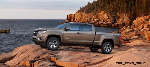 Updated With Pricing and Colors - 2015 Chevrolet Colorado Z71 Brings Cool Style, Big Power 50