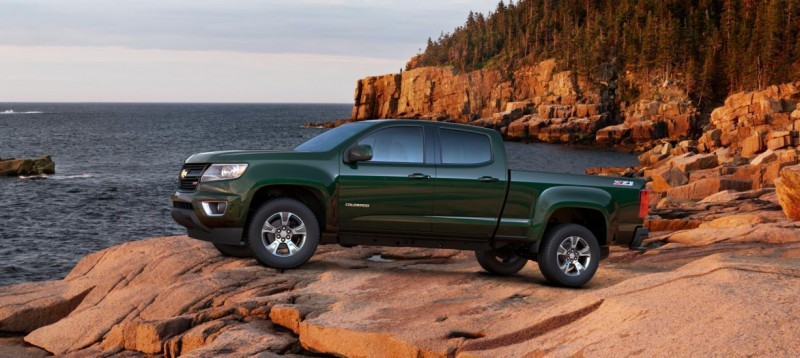 Updated With Pricing and Colors - 2015 Chevrolet Colorado Z71 Brings Cool Style, Big Power 6