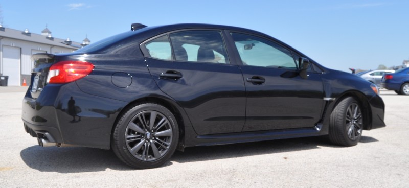 Updated with 37 High-Res Photos - Track Review - 2015 Subaru WRX Automatic 12