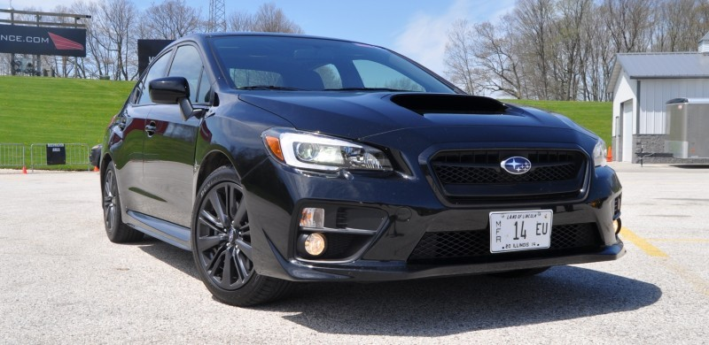 Updated with 37 High-Res Photos - Track Review - 2015 Subaru WRX Automatic 5