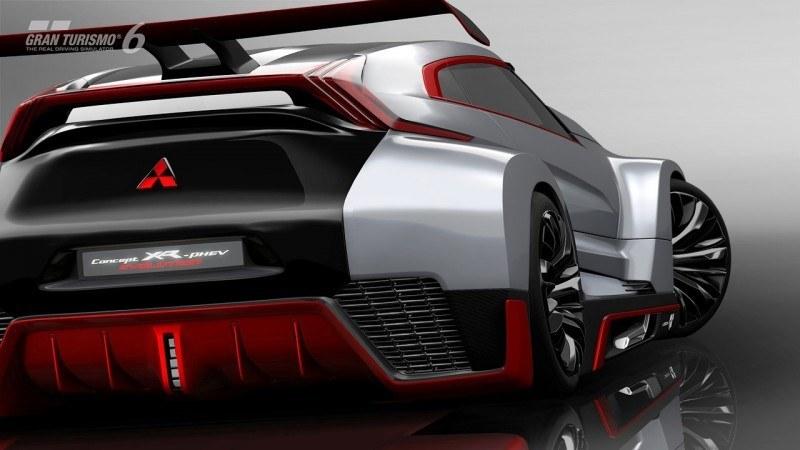 Vision GranTurismo Scores a Super Evo! Mitsubishi Concept XR-PHEV is Super Widetrack Racer 80