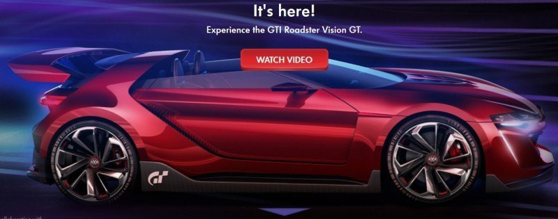 Volkswagen GTI Roadster Vision Gran Turismo Scores 4Motion and 500HP Twin-Turbo VR6 25