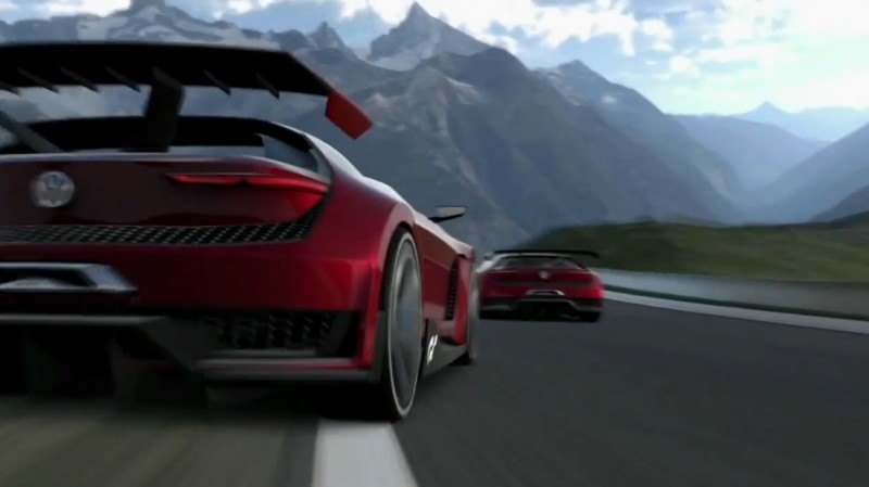 Volkswagen GTI Roadster Vision Gran Turismo Scores 4Motion and 500HP Twin-Turbo VR6 3