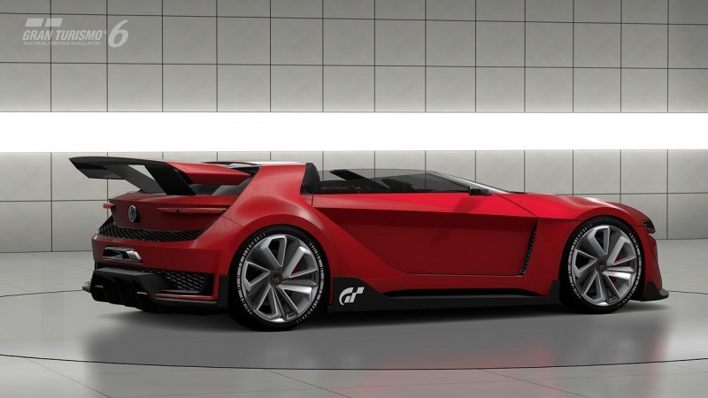 Volkswagen GTI Roadster Vision Gran Turismo Scores 4Motion and 500HP Twin-Turbo VR6 40