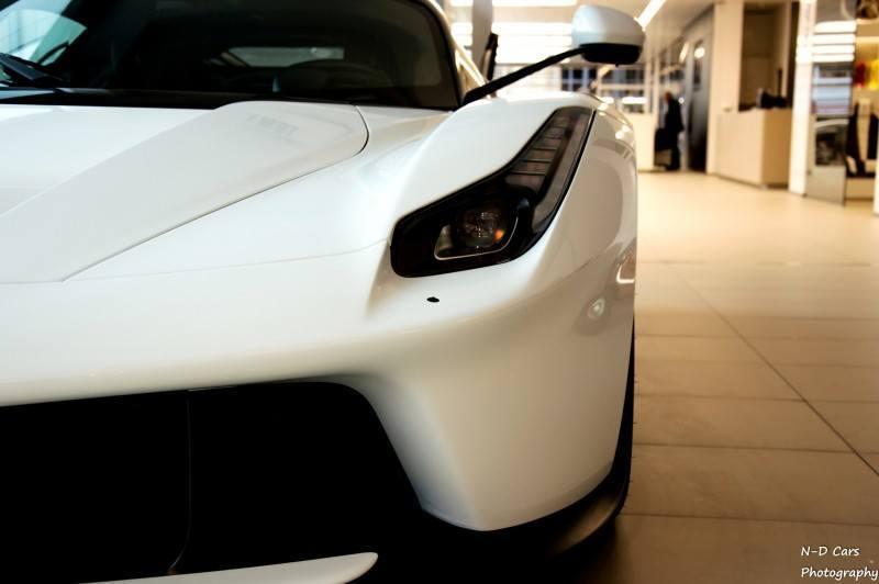 White LaFerrari Snapped in Geneva This Week by N-D Photography 12