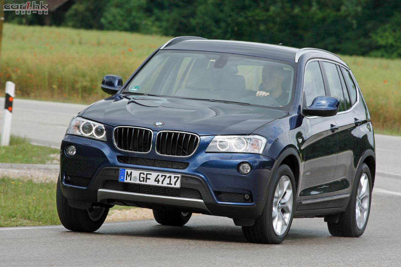 BMW X3 榮獲五星安全評級 : 香港第一車網 Car1.hk