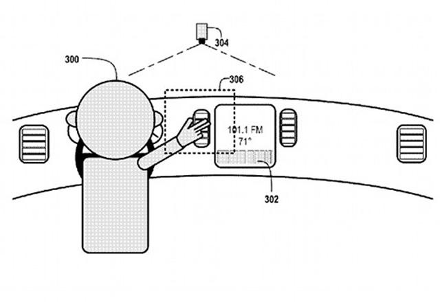 Google 申請車用手勢操控技術專利 : 香港第一車網 Car1.hk