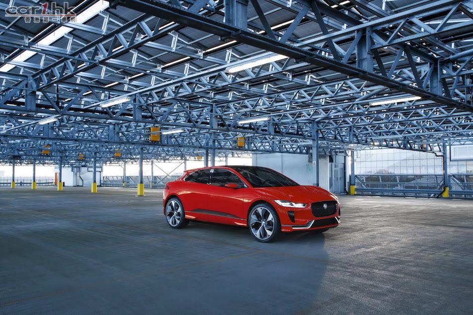 Jaguar i-Pace Concept 電動獵豹日內瓦出沒 : 香港第一車網 Car1.hk