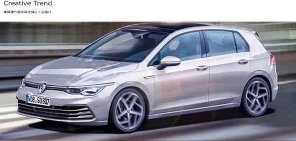 Volkswagen 8 代 Golf 真面目曝光!? : 香港第一車網 Car1.hk
