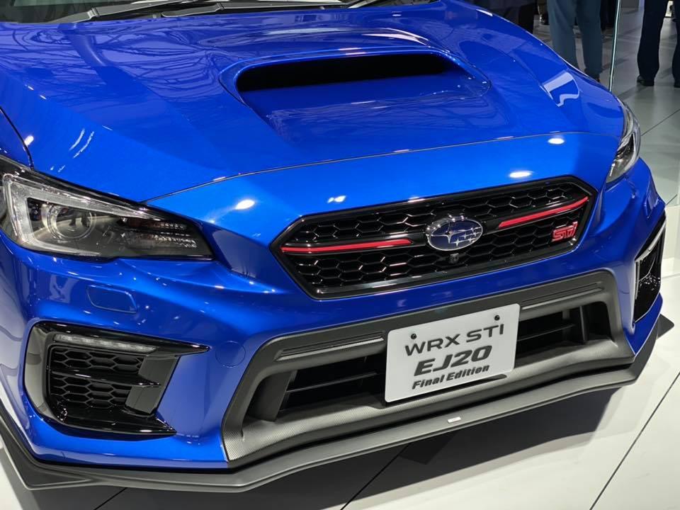【東京車展】限量 555 輛!Subaru WRX STI EJ20 Final Edition : 香港第一車網 Car1.hk