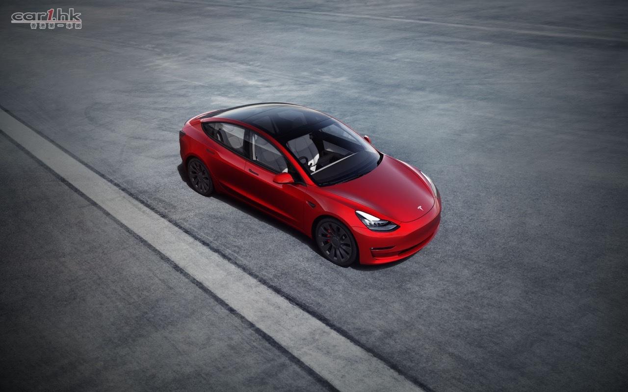 Tesla Model 3 全新版本正式推出 : 香港第一車網 Car1.hk