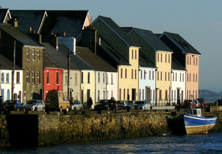 Coloured Houses of Galway