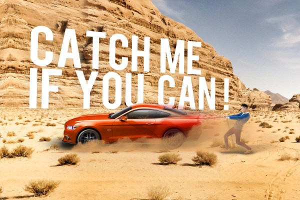 ford spirletautomobiles - action catch me if you can - visuel invitation - FordStore - Spirlet - inauguration - event - caractère advertising