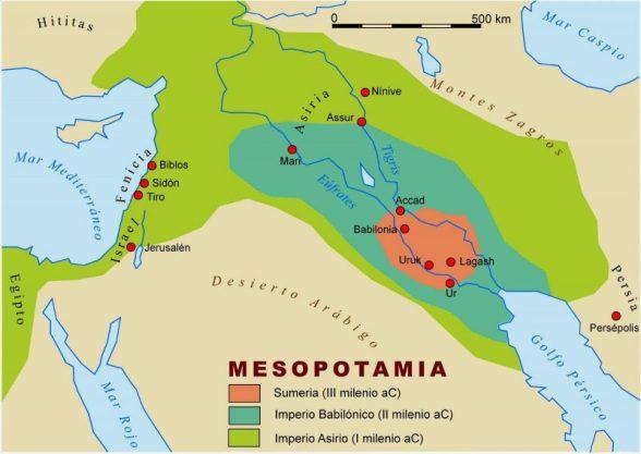 Resultado de imagen para mesopotamia