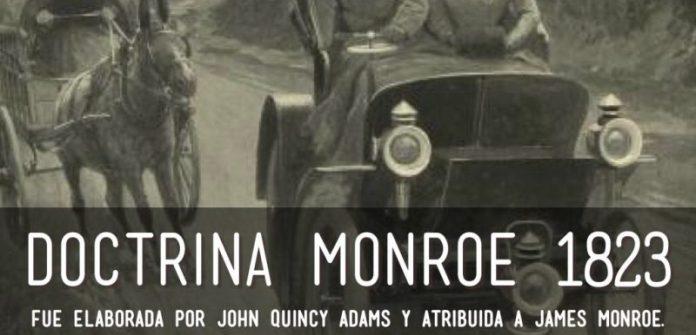 Resultado de imagen para Foto de la la Doctrina de Monroe