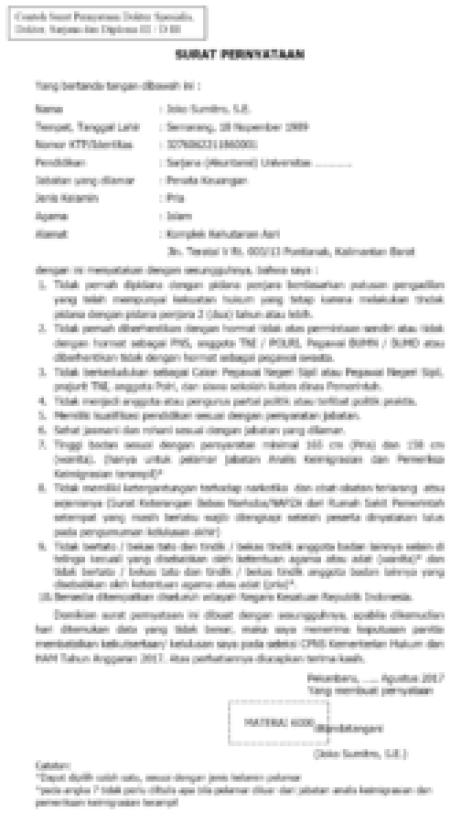Contoh-format-surat-Pernyataan-S1-D3-cpns-Kemenkumham-2017-172x300
