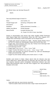 Inilah Daftar Hasil Seleksi Administrasi CPNS Periode 2 Lengkap